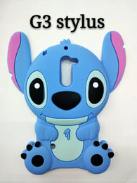 Wholesale Huawei Phone Cartoon Case - 3D Stitch Lilo Soft Silicone Case For LG K7 K8 K10 G2 G3 ,G3 Stylus,Huawei P8 Lite P9 Fashion Cute Lovely Cartoon Stereo Phone Covers