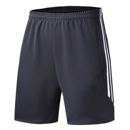 Wholesale Large Spandex - New men 's Luxury brand Running shorts Loose large elastic Five - point pants Football Basketball training pants Thailand quality NO.adid807