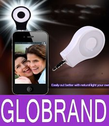 Wholesale Star S4 Phone - LED Video Light Camera Flash Selfie Light Cell Phone CRI 95+ Spotlight Flash for iphone 6 6S 5 5S 4 4S Samsung S4 S5 S3 Note GLO610