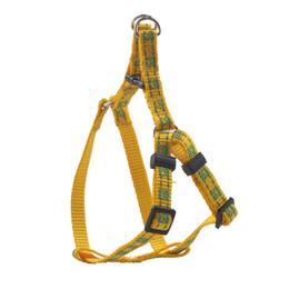 Wholesale Reflective Harness Vest - Fluorescence Dog Vest Dog Harness Buckle with Collar Reflective Pet Vest Safety Adjustable Lead Collar Soft Nylon Pet Training Leash G-003