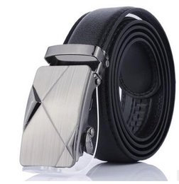 Wholesale Wholesale Designer Men Belts - Designer Leather Strap Male Belt Automatic Buckle Belts For Men Girdle Wide Men Belt Waistband ceinture cinto masculino