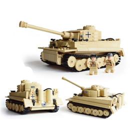 Wholesale Century Military - Wholesale-995pcs KAZI Century Military Building Blocks German King Tiger Tank Model Enlighten Blocks Eduction Toys Compatible with legoe