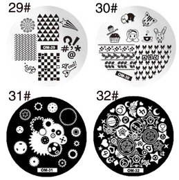 Wholesale Template Stamp - 60 styles Designs Nail Art Polish Stamping Template Image Stamp Plates DIY
