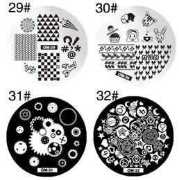 Wholesale Wholesale Nail Image Plates - 60 styles Designs Nail Art Polish Stamping Template Image Stamp Plates DIY