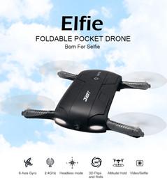 2019 helicópteros walkera JJRC H37 Elfie plegable Mini Drone de Selfie con el helicóptero del zumbido de Wifi Fpv de la cámara de HD MOQ: 1PCS