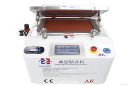Wholesale Iphone Vacuum Machine - 2015 Newest Style 12'' AK Vacuum OCA lamination machine all automatic work machine oca laminator oca vacuum lamination machine