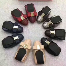 Wholesale Genuine Leather Rolls - Letu321 Fashion Metal Buckle Bow Bowtie Outdoor Soft Genuine Leather Roll-up Flat Ballet shoes Sz 35-39