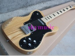 Wholesale Electric Guitar Natural Color - Free shipping ! '57 reissue TL Electric Guitar TL arm cut electric guitar with natural wood color