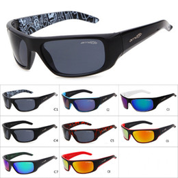 17f930aa064 Hot Arnette Sunglasses Sport Cycling Eyewear Sunglasses Bicycle Motorcycle Fashion  Sunglasses For Men Women 8 Colors AAA+ free shipping