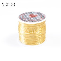 Canada Perles de cristal Neitsi 5Roll / lot de haute qualité élastique Extension de cheveux cordon et outils de bijoux Fil / Fils Offre