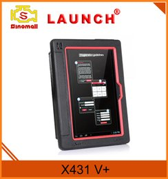 Wholesale Online Automotive Tools - 100% Original LAUNCH X431 V+ Diagnostic Tools with Wifi   Bluetooth Full System Online Update X431 V Plus