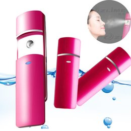 Wholesale Nano Facial Mist - Handy Nano Facial Moisturizing Mist Spray Face Steam Moist Beauty Apparatus Portable Atomization Mister Skin Care