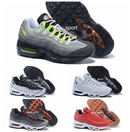 Wholesale Summer Cut Out Boots - Men Running Shoes Sport 95 Men Retro Cushion Navy 95 OG Sport Air High-Quality Chaussure retro 95s Walking Boots Sneakers 40-46