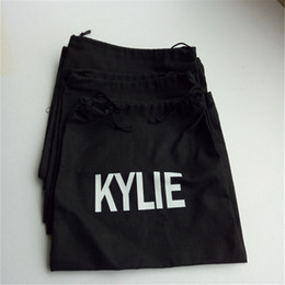 Wholesale Handbags Boxes - In stock Kylie Jenner cosmetic collection box drawstring birthday Kylie lip makeup bag type dust bag dust bag birthday handbags