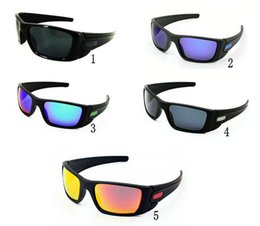 Wholesale Color Bicycle - new fashion men' s women's black frame Bicycle Glass sun glasses fuel cell sunglasses A+++sunglass Free Ship .