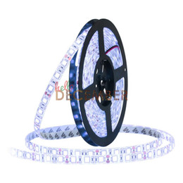 Wholesale Neon Lights Signs Wholesale - 12V 5M 60 LEDs M 300LEDs SMD5050 LED Strip Lights RGB Red Blue Green Yellow Warm Cool White LED Neon Sign Light Strips