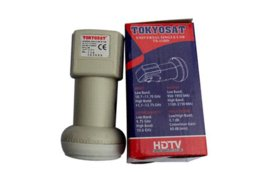 Wholesale Digital Satellite Lnb - Digital Dual KU Band Universal Single LNB TS-11HD Of Satellite TV Receiver Support HD Waterproof N.F0.1dB Gain63dB