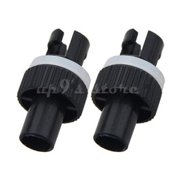 Wholesale Hose Valves - 4PCS Inflatable Kayak Boat Air Foot Pump HR Hose Adapter H-R Valve Adapter