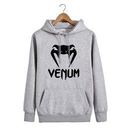 Wholesale Blue Mma - Spring Autumn Winter Men Women Sweatshirt hoodie New snake heads MMA fleece sweater venumm pullover sweater