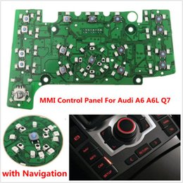 Wholesale French Board - Multimedia MMI Control Panel Circuit Board w  Navigation E380 for AUDI A6 A6L Q7 GPS