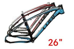 Wholesale 29 Alloy Frame - 263-Aluminum mountain bike frame 15 paragraph(Germany CUBE REACTION) 26  27.5   29 inch lightweight cross-country bike racks