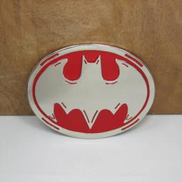 BuckleHome Бэтмен пряжки ремня filml пряжки ремня с серебряной отделкой FP-01454 подходит для 4 см wideth пояса cheap batman belts от Поставщики ремни бэтмэна