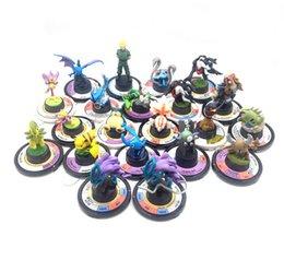 Wholesale Pokemon Collection Figures - Poke Figures Pocket Monster PVC Action Figure Collection Model Toys Dolls Classic Toys free shipping in stock