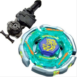 Wholesale Ray Hand - 1PCS 4D Beyblade Metal Fight Ray Unicorno (Striker) D125CS Metal Masters 4D BB71 Beyblade +L-R Starter Launcher + Hand Grip
