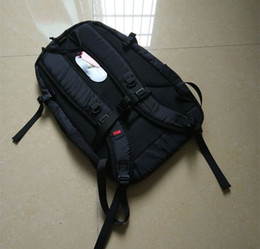 Wholesale Backpack Cordura - Black Sup 17ss 42th Backpack 210D Cordura 3M School bag Fashion Outdoor Pack Travel Backpacks for Men