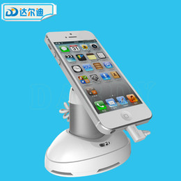 Wholesale Phone Security Stand - Anti-Theft Exhibition Cell Phone Tablet Pad Security Stand Alarming Holder Pioneer Standalone Black White Charging Alarm Free DHL Shipping