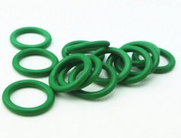 Wholesale Viton Rubber - hot sale free shipping high quality wholesale different size Green Viton O Ring cross section 1.5mm OD9-15mm for sealing