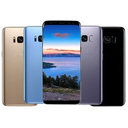 Wholesale Goophone Smart Phone Android - Goophone S8 S8+ S8 Plus 5.8 inch 6.2 inch Octa Core 4GB 64GB 6GB 128GB 2960*1440 QHD Android 7.0 12.0MP Camera GPS WiFi Smart Phone