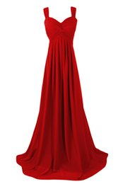 Wholesale Evening Gowns Tail - Sling strapless chiffon formal Evening Dresses 2016 new adult canonicals long tail Dress red carpet catwalk Prom Gowns Plus Size