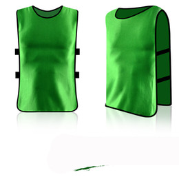 Wholesale Wholesale Basketball Uniform - In the stock against the suit football basketball training vest children's uniforms campaign to expand the advertising vest custom number ho