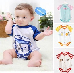 Wholesale Thick Baby Pajamas - 0-1Y Cotton Thick Warm Baby Rompers Girl Boy Baby Pajamas Newborn Next Jumpsuits Rompers Baby Cotton clothes