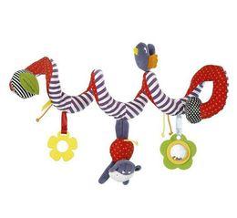 brinquedos para bebés Desconto Nova Cama de Bebê Em Torno Do Bebê Carrinho De Criança Pendurado Sino Rattle Brinquedo de Pelúcia Musical Móvel Bebê De Pelúcia Pano Art Bed Brinquedos Educativos