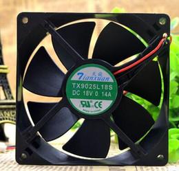 2019 fans superred LOT DE 2 Nouveau TX9025L18S DC 18V 0.14A 9CM 9025 Réfrigérateur Thermostat Cabinet Ventilateur Livraison Gratuite