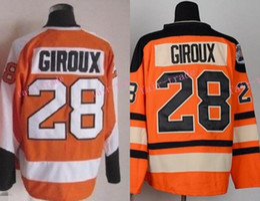4cbbbc9d8 ... Hoodie Mens Philadelphia Flyers Hockey Jerseys 28 Claude Giroux Jersey  Orange Authentic Stitched Jersey 2012 Winter .