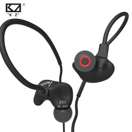 Wholesale Sport Headphone Wired - KZ ZS3 HIFI Headphones with Heavy Bass and Noise Isolating Sports Music Headsets High Sensitivity HD Earphones