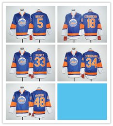 Wholesale Stitched Long Sleeve New York Mets Wright strawberry Harvey Syndergaard deGrom Baseball Blue MLB Jersey Mix Order Notice