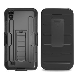 Wholesale Future Skin - Future Armor 360 Degree Rotating 3 in 1 Stand Clip Belt Hard PC Silicone case For Samsung Galaxy J210 J2 2016 LG X Power K6 Skin Cover 30pcs