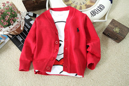 Wholesale Newborn Baby Winter Jacket - Hot Sale 1PC Baby boys girls sweaters fashion knitted cardigan outerwear 2017 autumn winter newborn children's coat