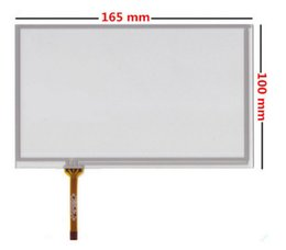 Wholesale Dvd Tablet For Car - original New 7 inch touch screen panel 165mm*100mm digitizer For Car DVD navigation tablet