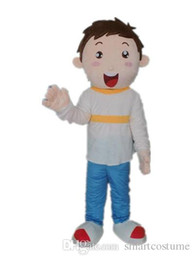 Wholesale Mascot Costumes For Girls - SX0727 100% positive feedback the little lovely boy and girl mascot costume for adult to wear