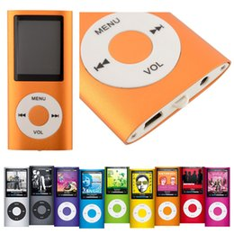 Wholesale New Mini number gen inch LCD screen FM Radio Mp4 Player Support SD TF Card NOT Included Headphones And USB wire