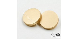 Wholesale Wholesale Gold Sew Buttons - Sewing accessories Metal plane coat buttons 15MM gold color