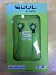Wholesale ludacris earphones - High quality Soul SL mini Earphones Audio Street by Ludacris Headphone In-Ear Headphones Factory Price for Mp3 Mp4 Cell phone