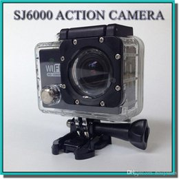 """Wholesale N9 Dhl - Gopro style Waterproof Sports Cam SJ6000 Style N9 HD Action Camera Diving Wifi 1080P 30M 2.0"""" 140° View DV HDMI Camcorders DHL Colorful"""