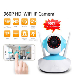 Wholesale Video Security Surveillance Systems - LS-H6837 960P IP Camera WIFI Home Security Indoor Cam Surveillance System Onvif P2P Phone Remote Video Surveillance PTZ Camera ANN