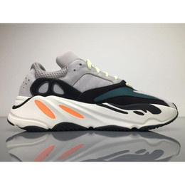 Wholesale Best Casual Shoes For Men - 2017 Newest Y Kanye West Wave Runner 700 Running Shoes for Men Best Quality Season 5 700s Boost Women Fashion Casual Sports Sneakers